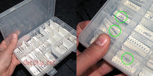 Коробка для хранения компонентов