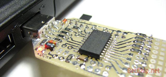 Вставляем преобразователь в USB порт
