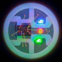 neopixel - три отдельных светодиода