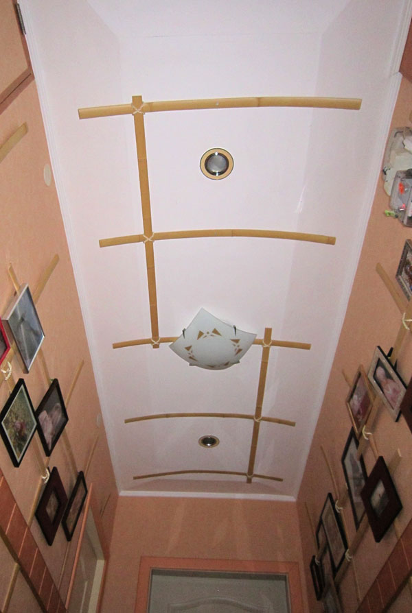 Вид потолка прихожей