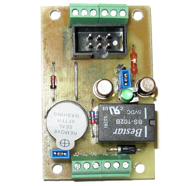 Контроллер доступа с ключами DS1990A (ATtiny45/ATtiny13) .